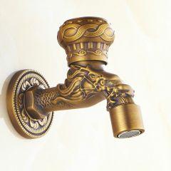 Кран для хамама, бани, сауны Antique Brass SZ872